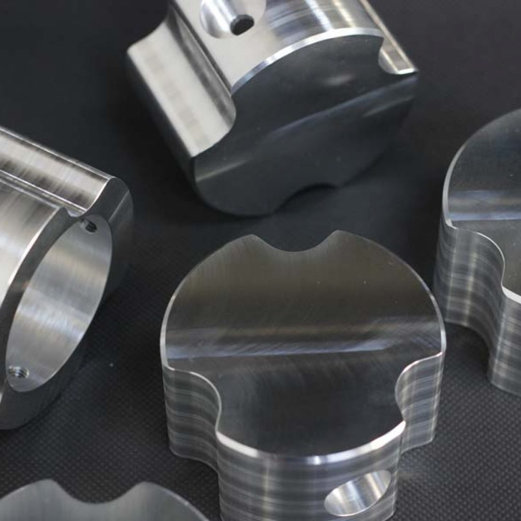 5 Axis Aluminium CNC Machined Components
