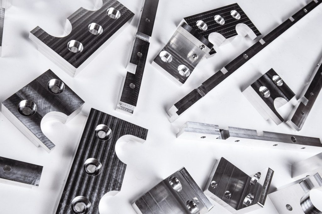 Aluminium CNC Milled Parts from UK Subcontractor