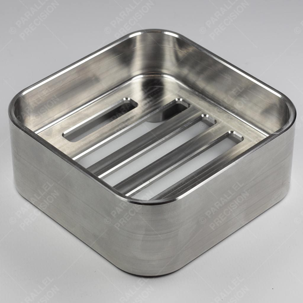 Precision Engineered CNC Milled Stainless Steel Component